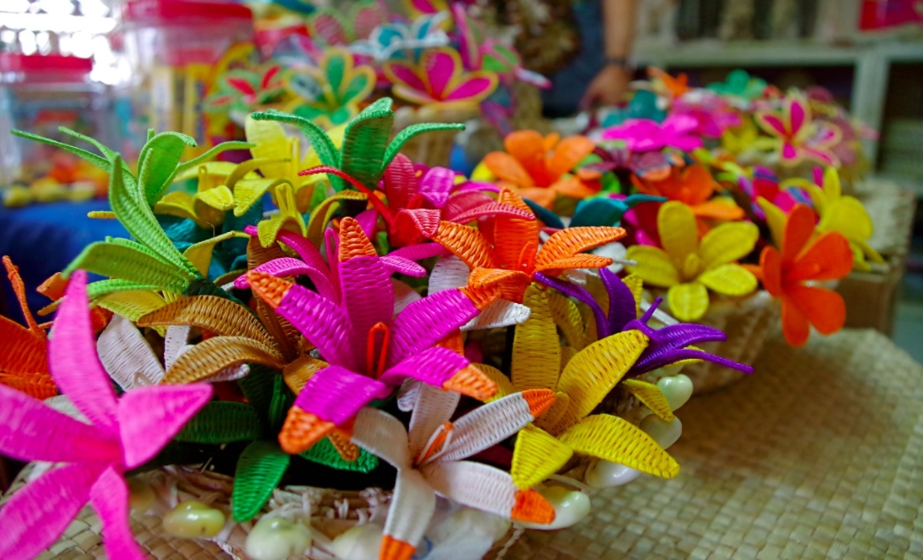 Handicraft flowers