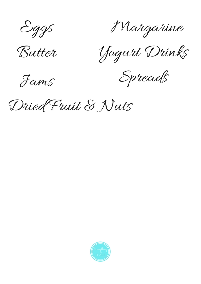 pantry and fridge labels page 3