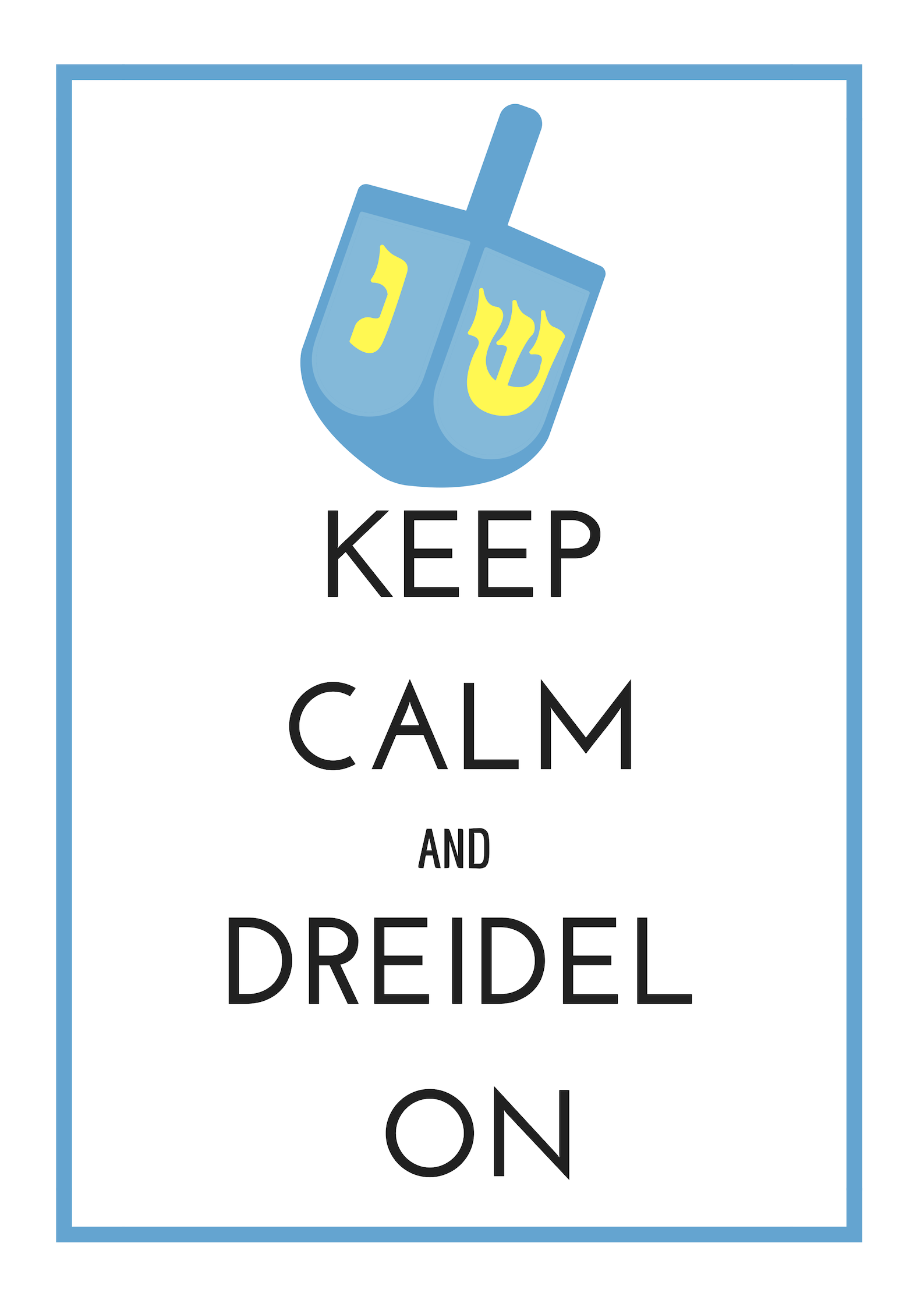 I always have a hard time finding cute Hanukkah decor so I made my own! Click on image for the PNG or you can get the PDF  here .