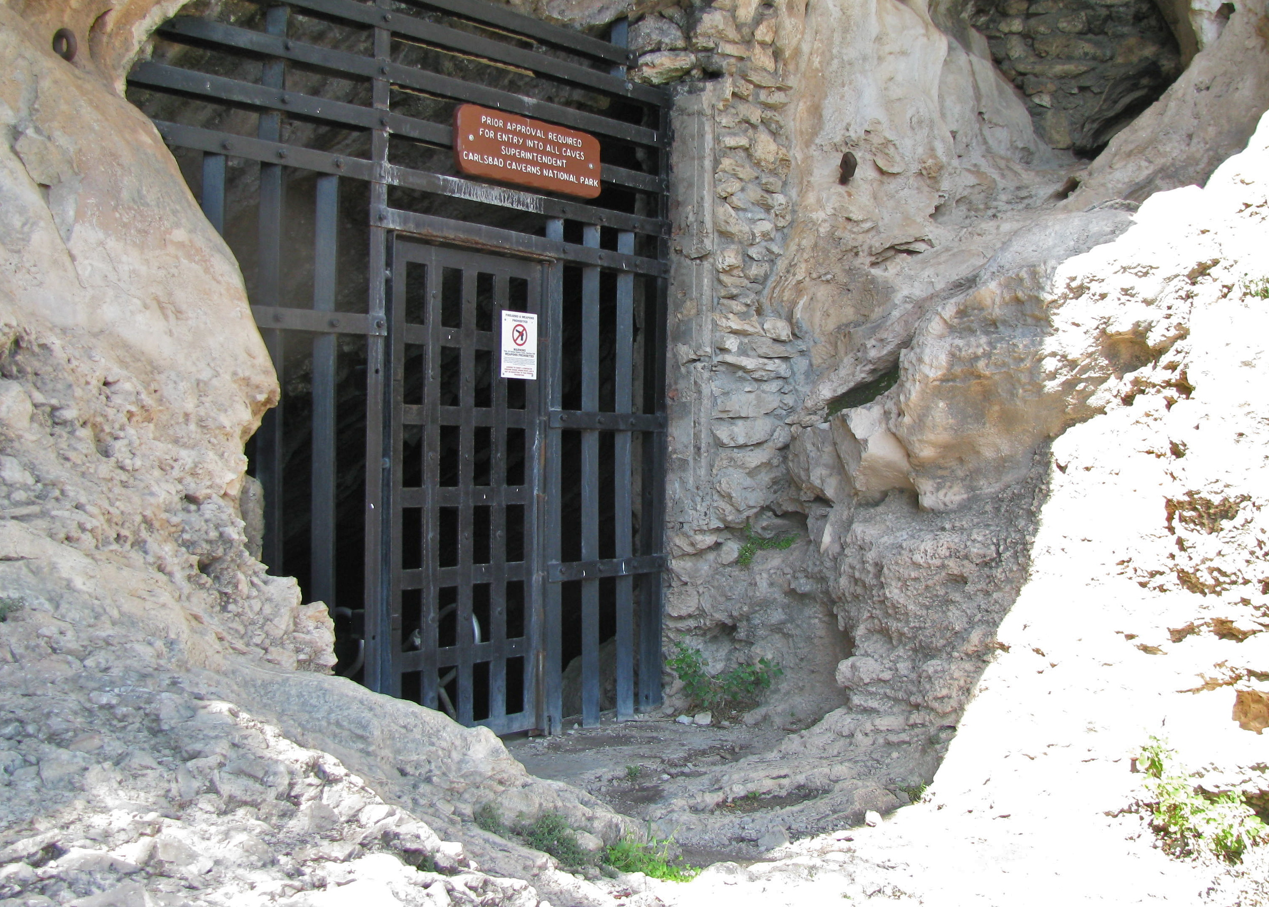 Slaughter Canyon Cave entrance