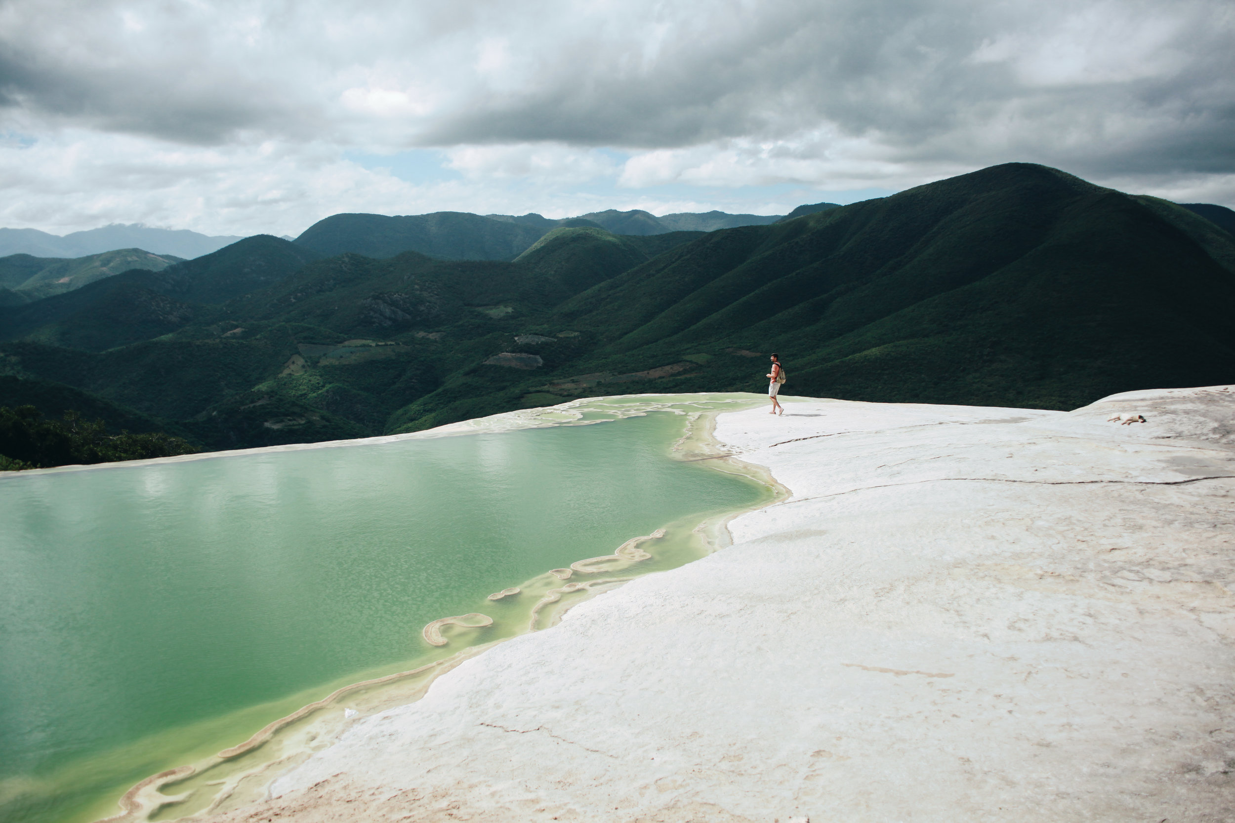 Hierve El Agua Excursion:  Oaxaca is known for its culture  and  its natural wonders. Hierve al Agua is a natural set of rock formations built over thousands of years. Take a dip in the natural spring while taking in a breathtaking panoramic view.