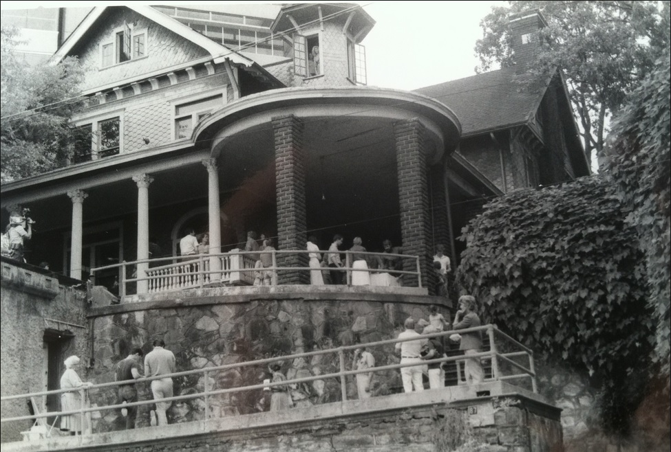 """Upon McMillan's death in 1920, an obituary read: """"to Atlanta he leaves a distinctive landmark, the house he built on Fifteenth Street."""" At that time already known by some as the Castle, Fort Peace was """"to all pointed [out] as the city's most unusual residence.""""  Photo Credit"""