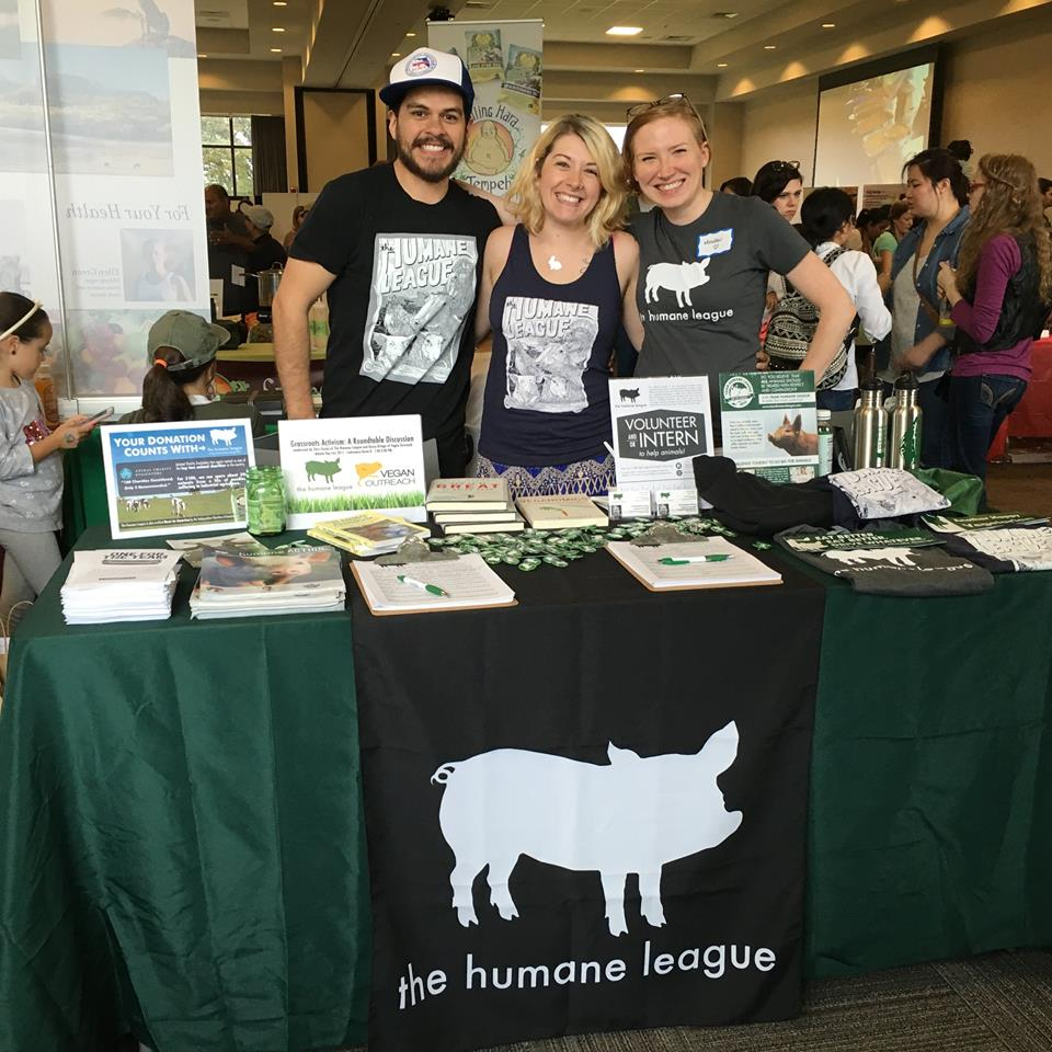 Our November co-hosts,  The Humane League - Atlanta .