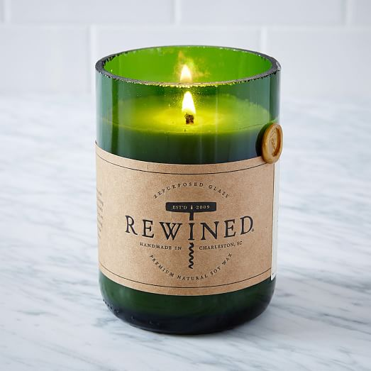 Rewined Natural Soy Wax Candle