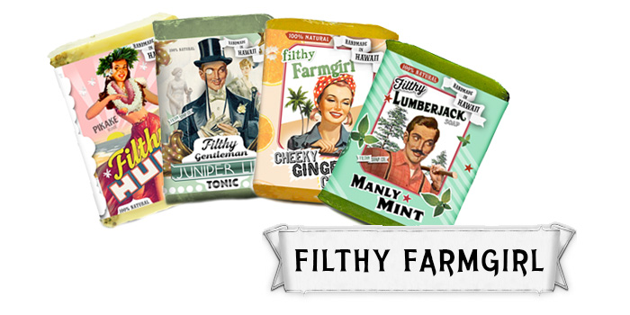Filthy Farmgirl Soap