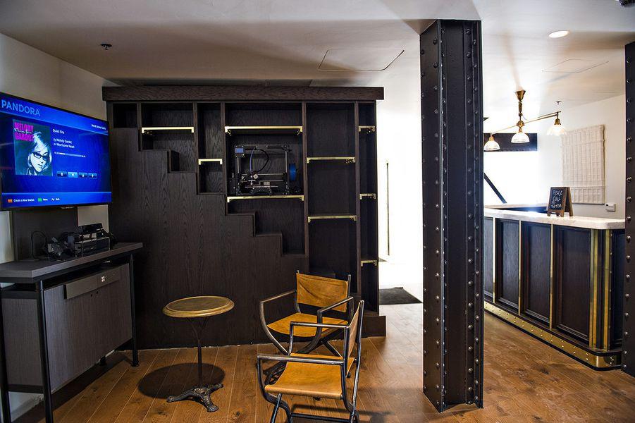 Post-renovation,  FlatironCity  1st Floor.