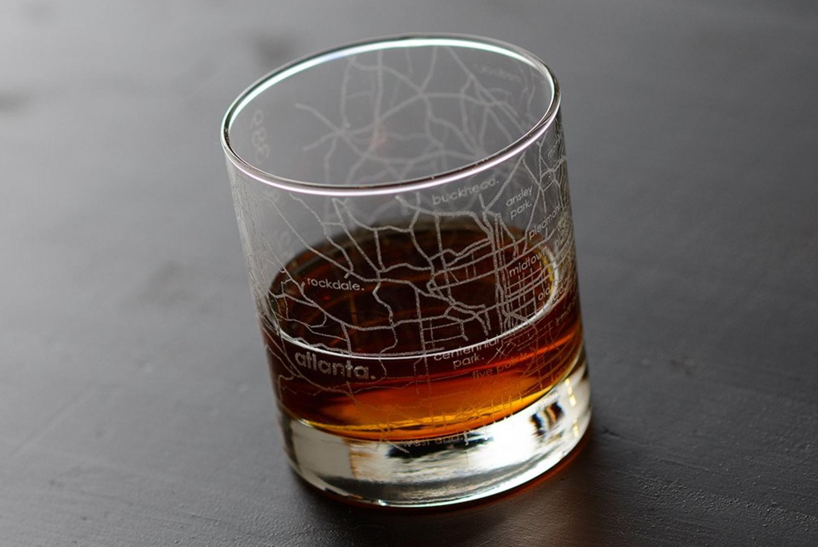 Atlanta Rocks Glass