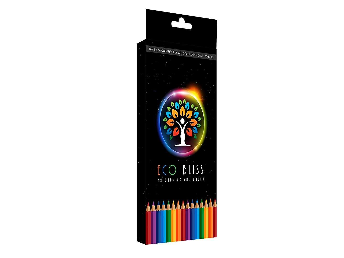 Eco-friendly Semi Soft Core Colored Pencil Set (goes w/coloring book)