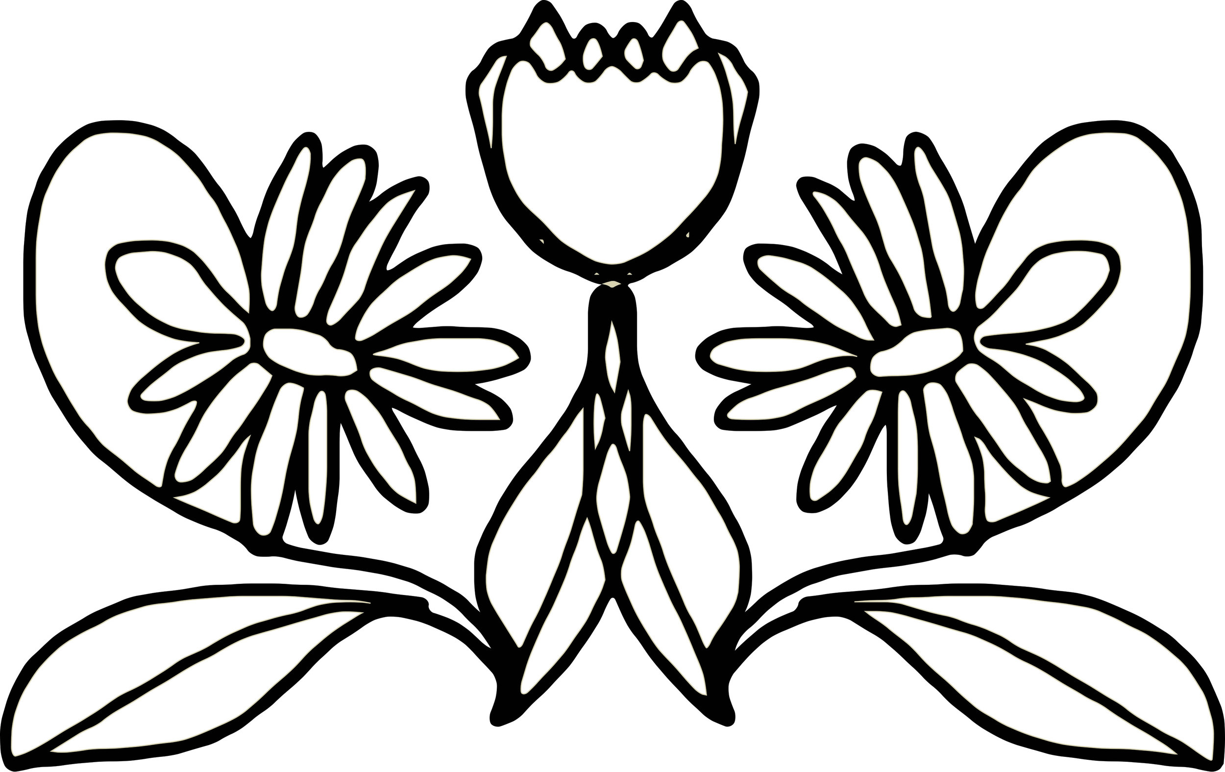 floral motif by Esther Jongste