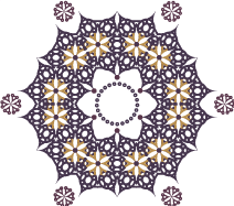 A new motif created from the same elements ofCarlyn Clark's original design