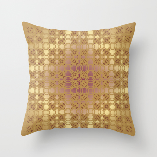 Win a Society 6 pillow printed with your favorite pattern from the 1 Motif 100 Ways Series by Carlyn Clark (Day 55)