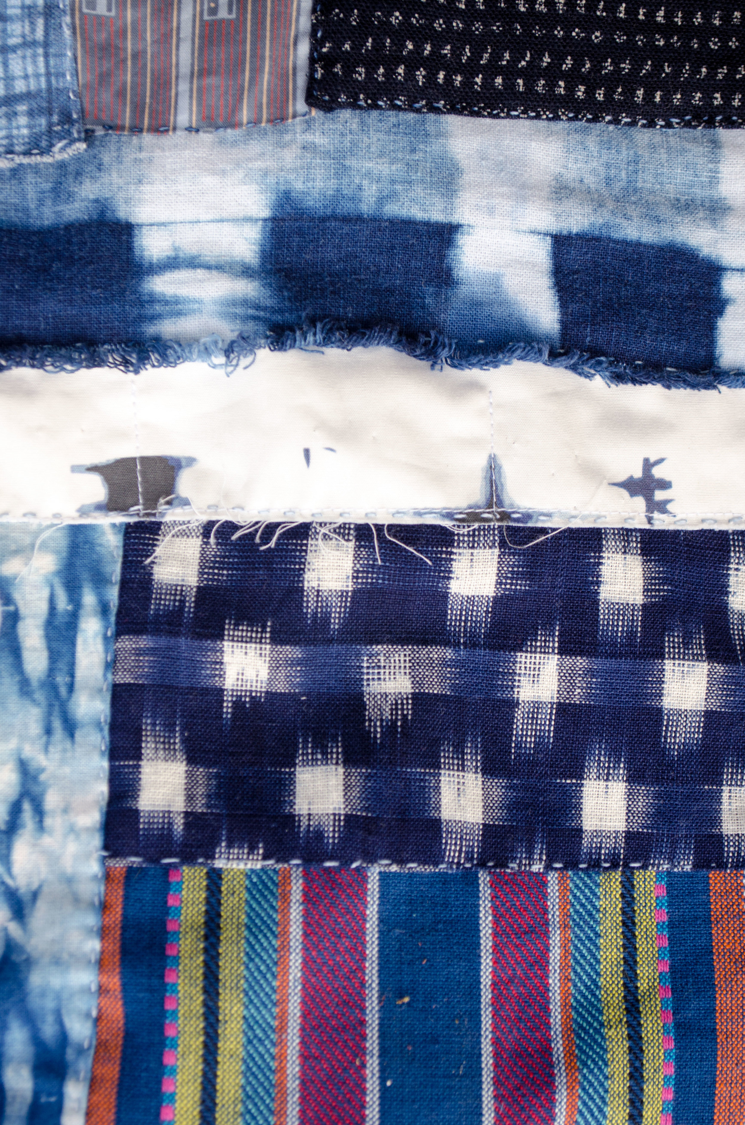 Day 39 of the Stitch A Day Challenge by Carlyn Clark, more piecing