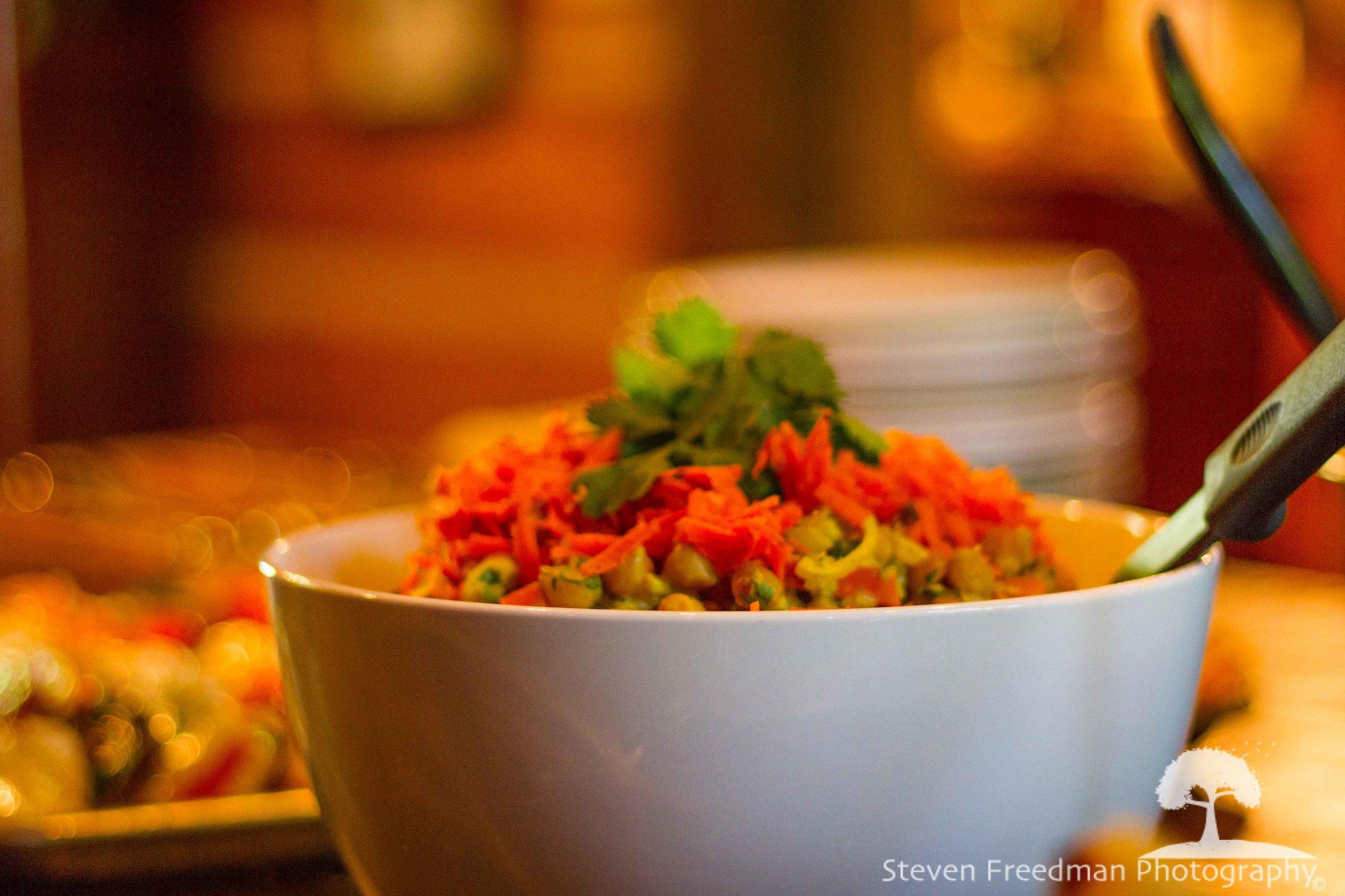 Chef Liam's chick pea salad