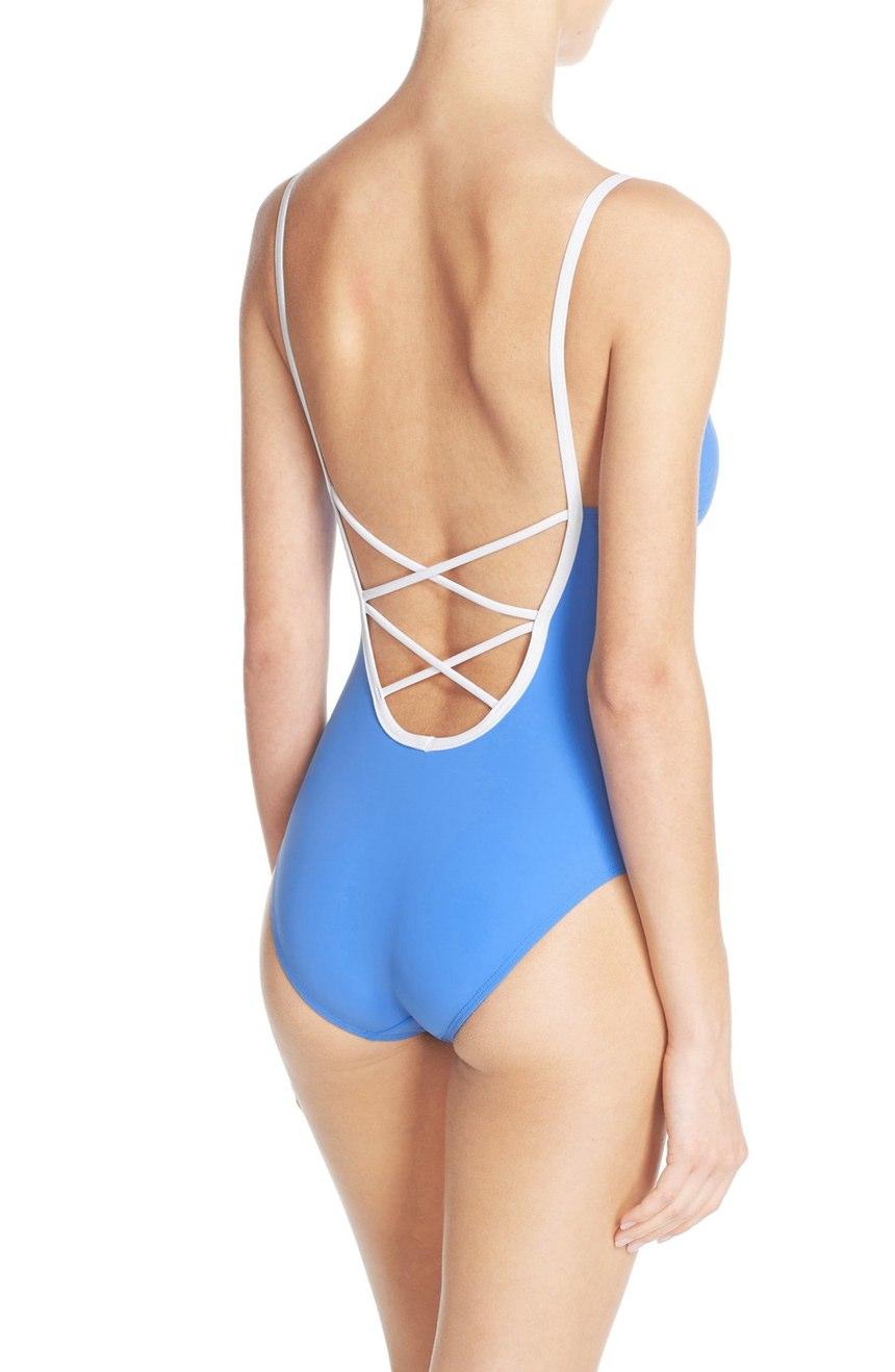 Laurito One-Piece Swim Suit | Tory Burch | On Sale $131