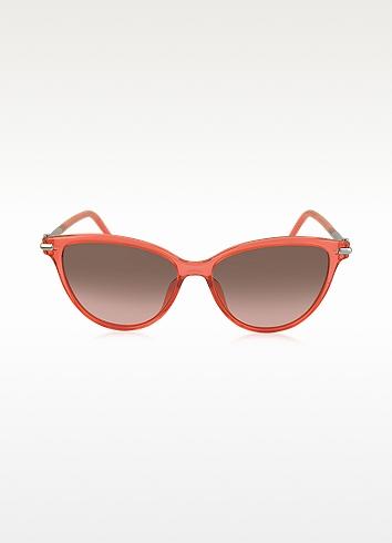 47/S TOTFX Coral Acetate Cat Eye Women's Sunglasses |Marc Jacobs | $160