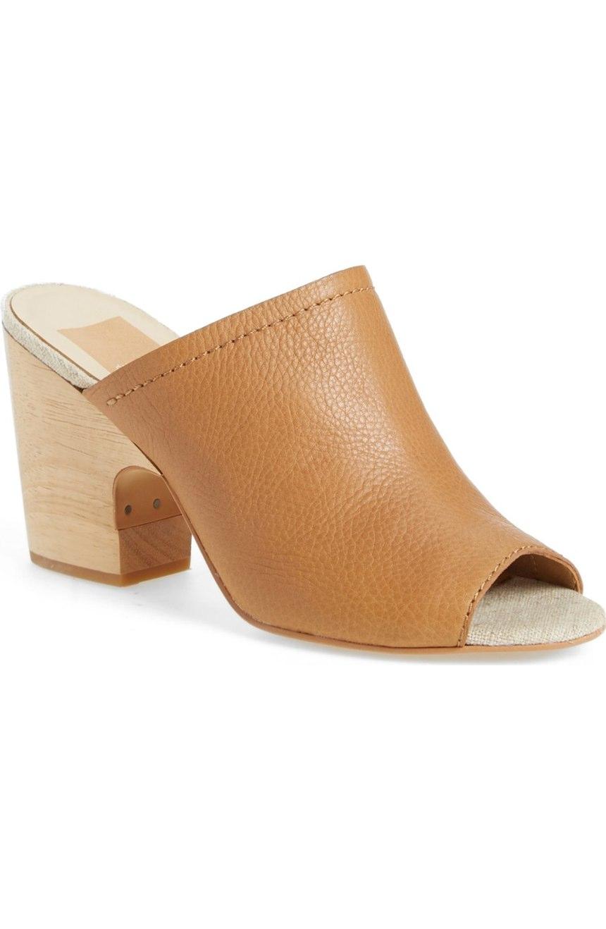 Tegan Peep Toe Mule | Dolce Vita | On Sale $105