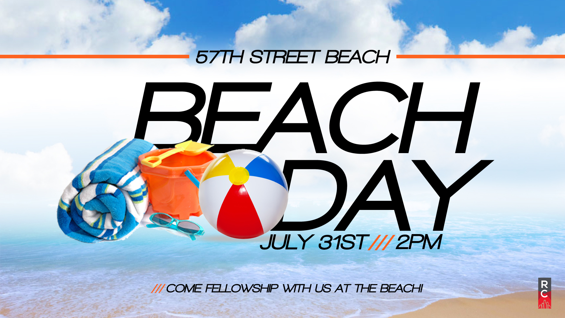 Come hang out and fellowship at the beach on Sunday afternoon! Bring a snack to share and come ready to have some fun in the sun!  Contact Sam at  sam.cralli@gmail.com  for details.