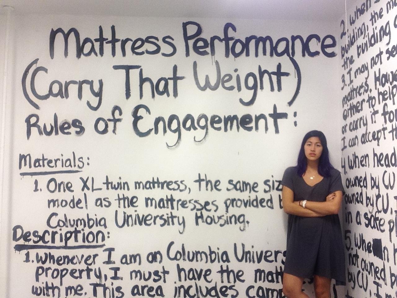 The parameters of  Mattress Performance.  Credit Emma Sulkowicz.