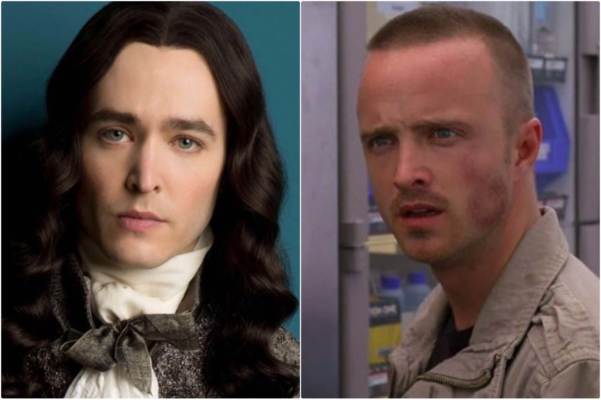 Philippe, Duke of Orleans (Louis' brother): Played by Alexander Vlahos, looks like Aaron Paul (with a tinge of Andrew McCarthy)