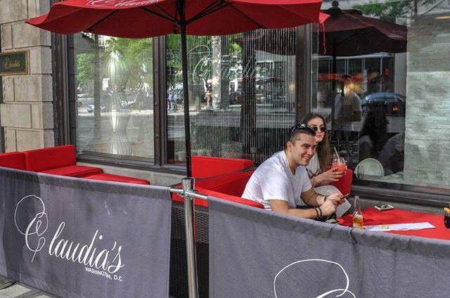 Officially patio season! Enjoy a drink or two indoors or out! 🥂⠀ •⠀ •⠀ •⠀ •⠀ •⠀ •⠀ •⠀ •⠀ •⠀ •⠀ •⠀ •⠀ #Claudias #ClaudiasDC #WashingtonDC #DCRestaurants #WineAndDine #LuxuryDining #LuxuryEvents #DCEvents #DCEats #DCBars #BarScene #HappyHour #LuxurySpaces #EventPlanning #BusinessEvents #PrivateDining #buzzfeasty #foodbeast #foodporn #eatingfortheinsta #igdc #dc #spoonfeed #foodnetwork #foodpornshare #huffposttaste #eatthis