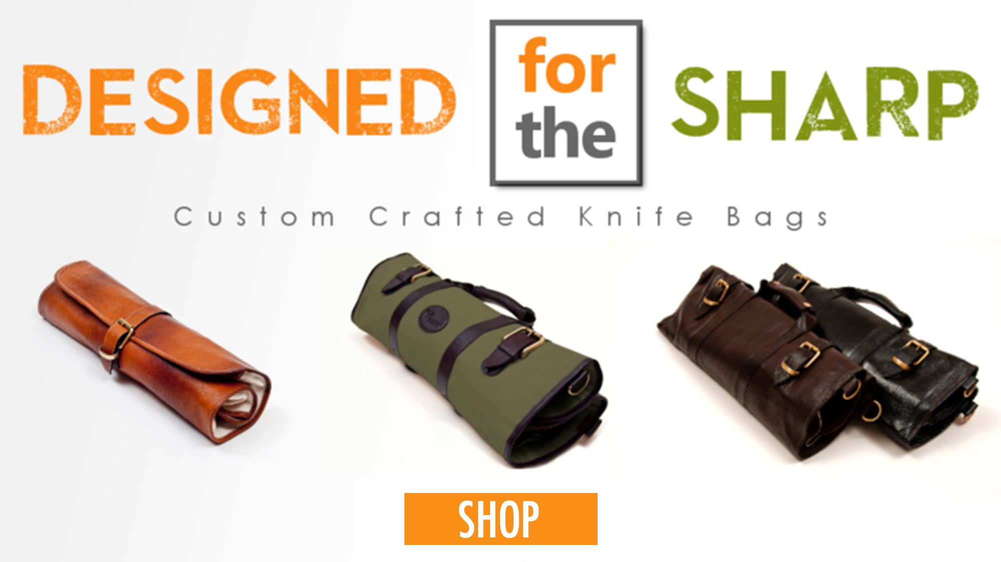 """Roll Bags for Chefs,  """"Chef Knives To Go"""""""