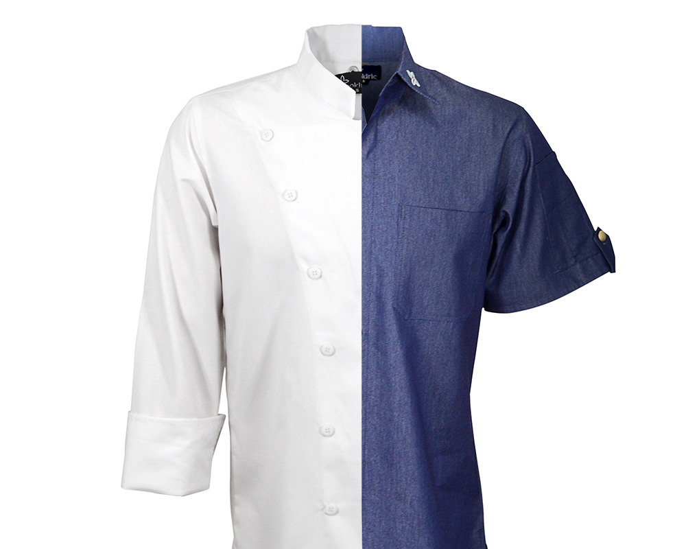 CUSTOM CHEF COATS - From a one-of-a-kind design to branded gear for the whole crew, getting suited up with our custom chef coats has never been easier.
