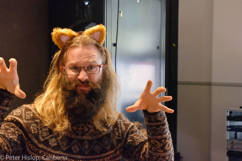 CIMF 2016 - Con05 - Ear of the Cat - Rehearsal. The Griffyn Ensemble prepare.