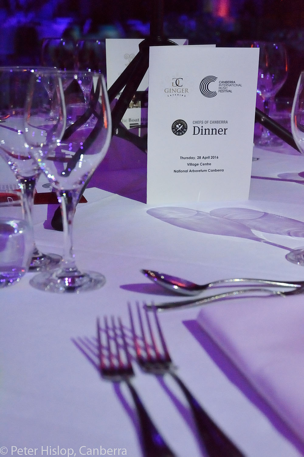 Chefs of Canberra CIMF Gala Dinner at The Conservatory.