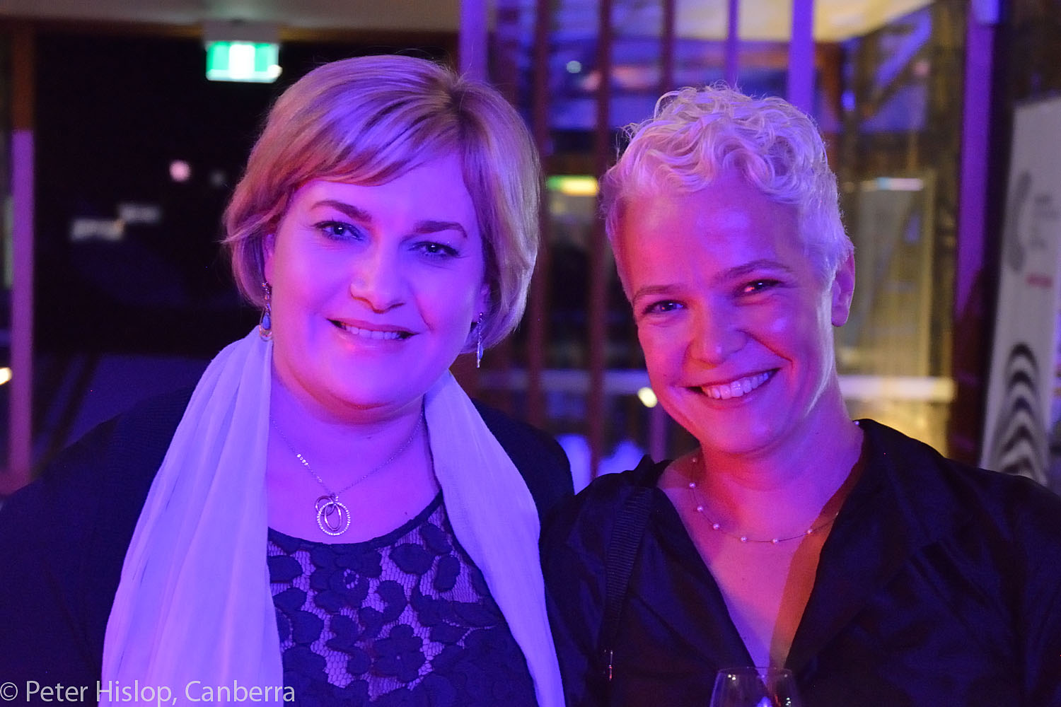 Chefs of Canberra CIMF Gala Dinner at The Conservatory. Rachel Gould and Peppi Wilson