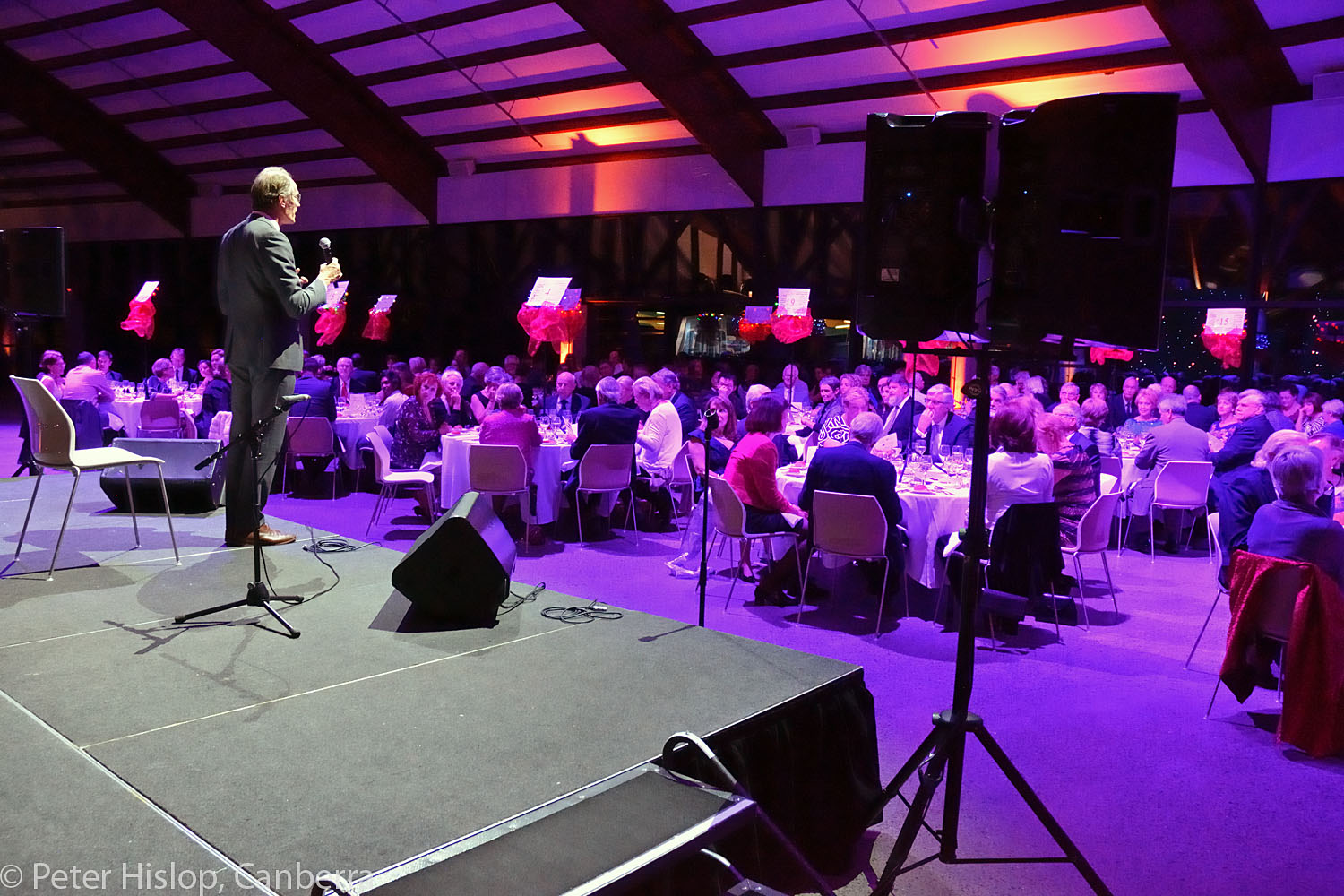 Chefs of Canberra CIMF Gala Dinner at The Conservatory. Introduction by Roland Peelman