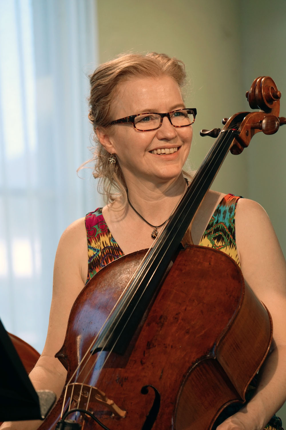 CIMF 2016 - Concert 03 - With Love and Fury. Sound Check. Katie Noonan with the Brodsky Quartet