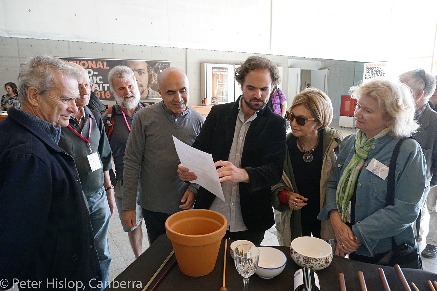 CIMF 2016 - Concert 08 - Bells and Smells. Composer Tristan Coelho discusses his piece with members of the audience