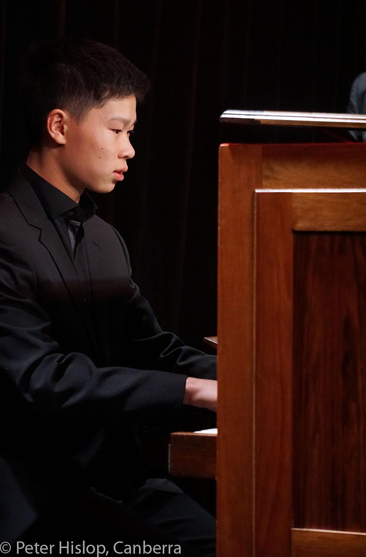 CIMF 2016 - Concert 11 - Scarlatti meets Handel meets Bach. Jonathan Lee