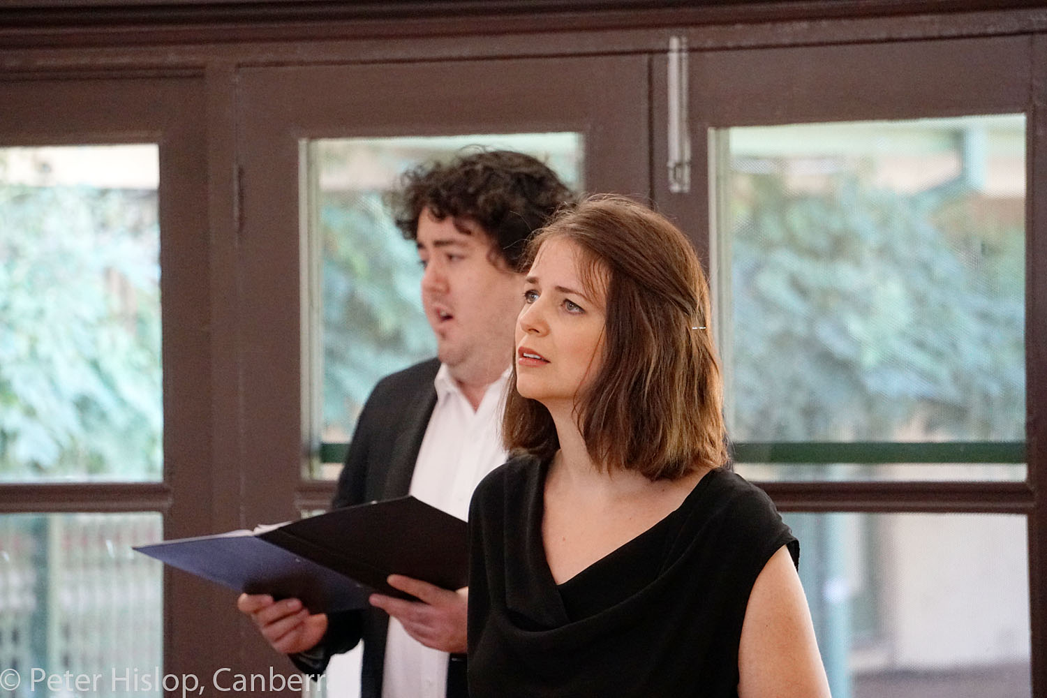CIMF 2016 - Concert 12 - Braddons Bread and Games. Susannah Lawergren, Andrew O'Connor