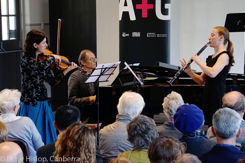 CIMF 2016 - Concert 12 - Braddons Bread and Games. Anna McMichael, Roland Peelman and Magdalenna Krstevska