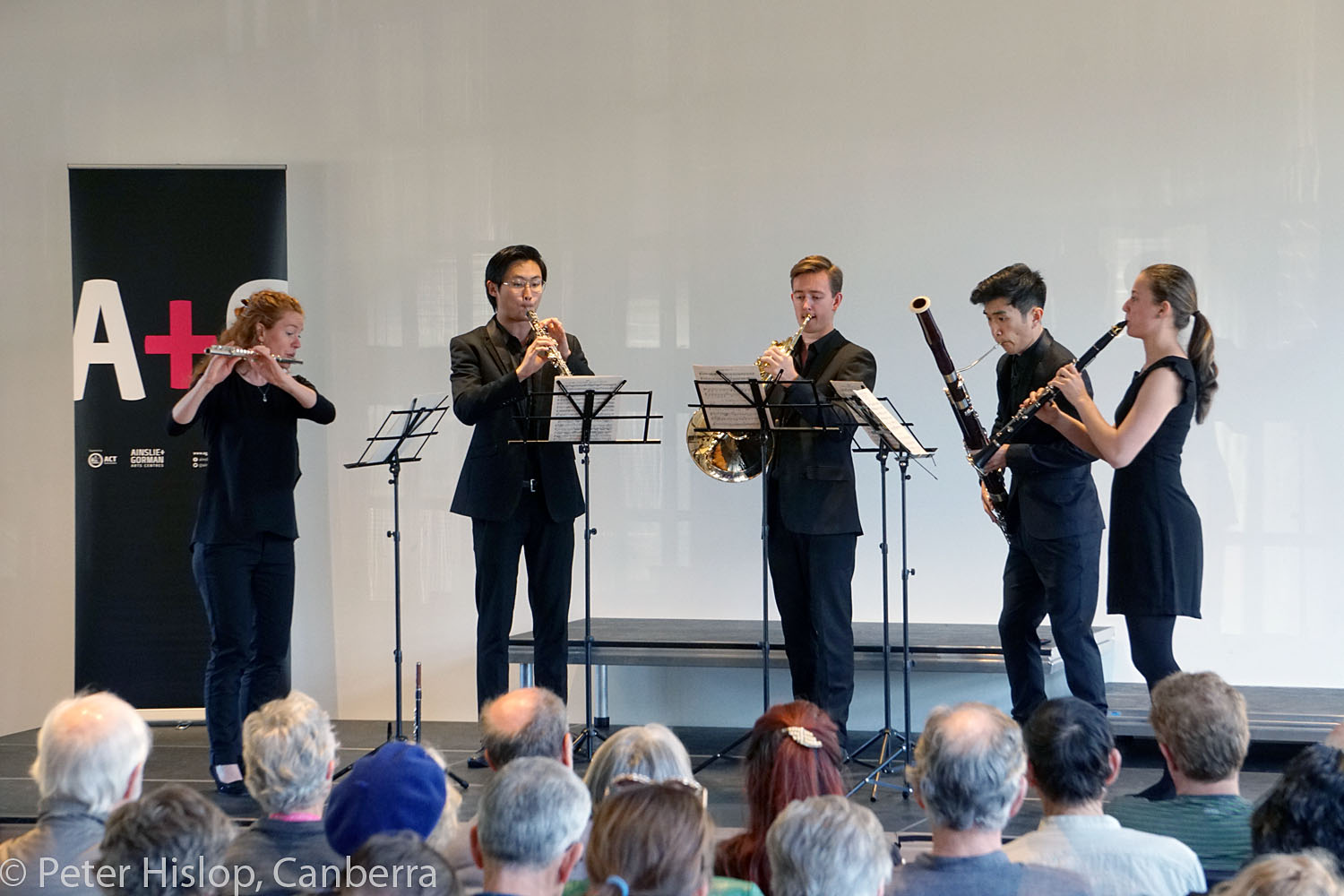 CIMF 2016 - Concert 12 - Braddons Bread and Games. Festival Young Artists - winds