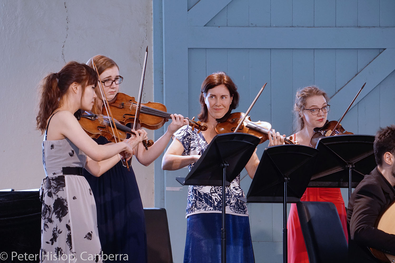 CIMF 2016 - Concert 18 - Vivaldi Unseasoned. Suyeon Kang, Laura Barton, Anna McMichael and Alys Rayner