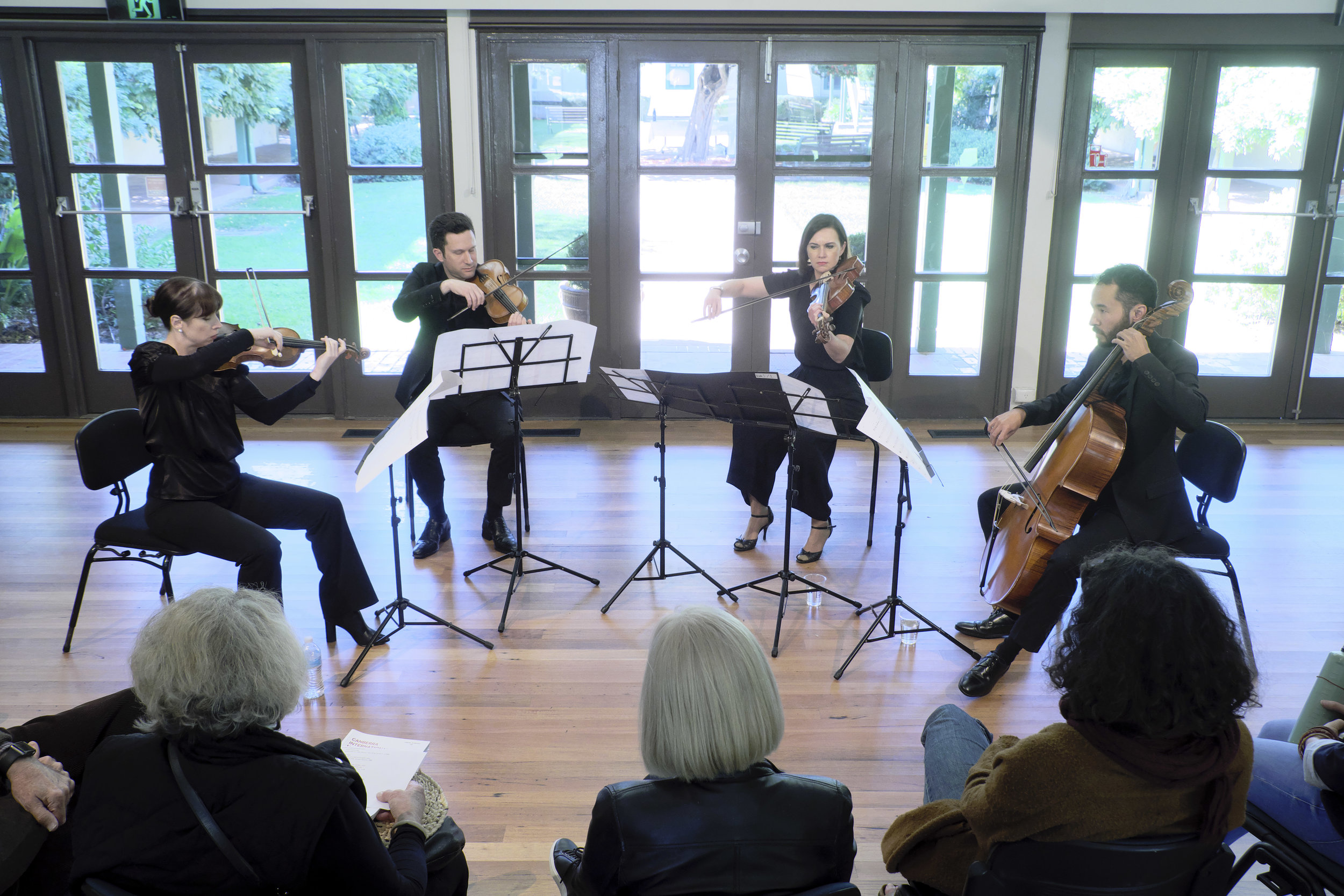 Bach Akademie Quartet - photo by Peter Hislop