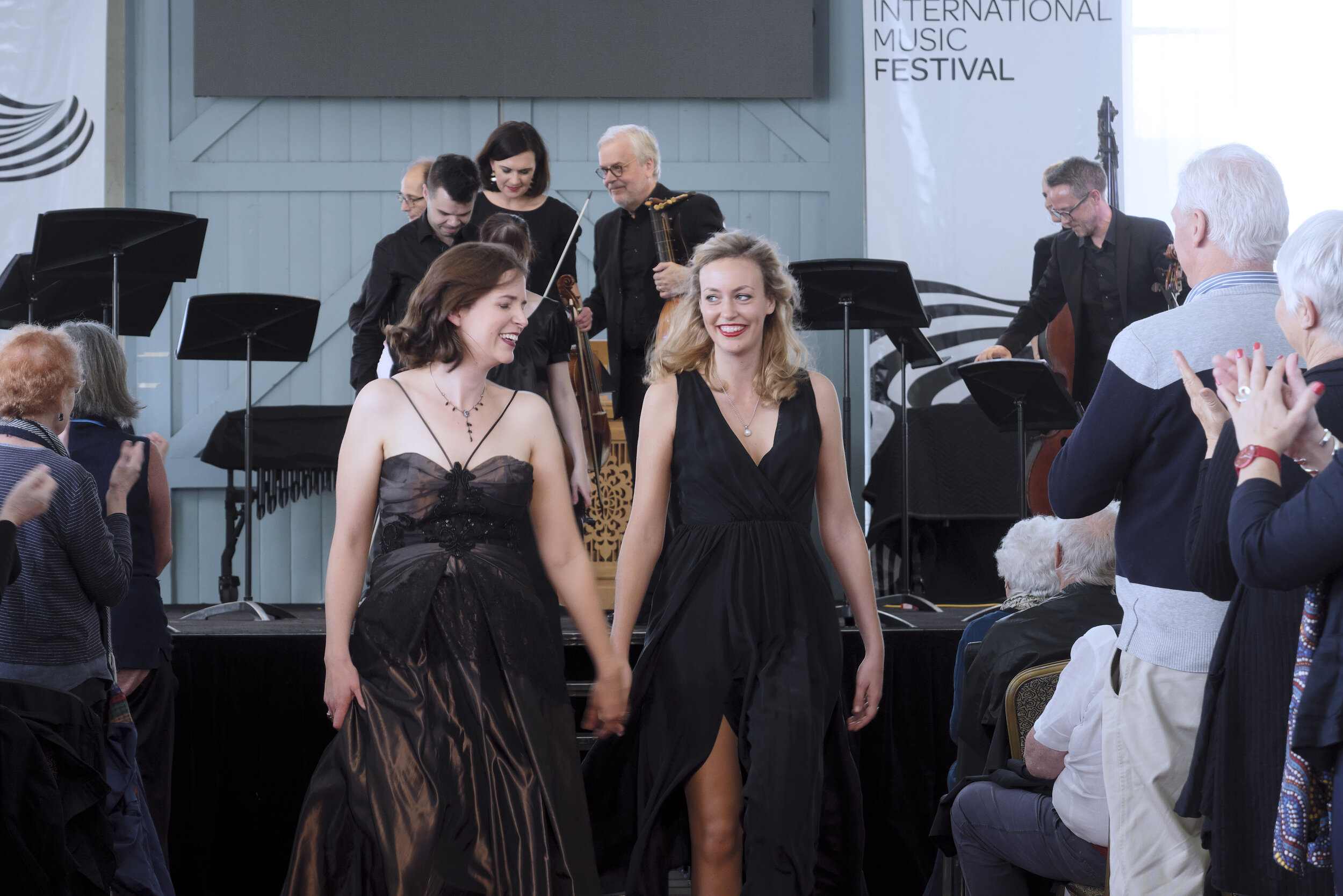 Concert 06. Bach's Orbit. Photo by Peter Hislop