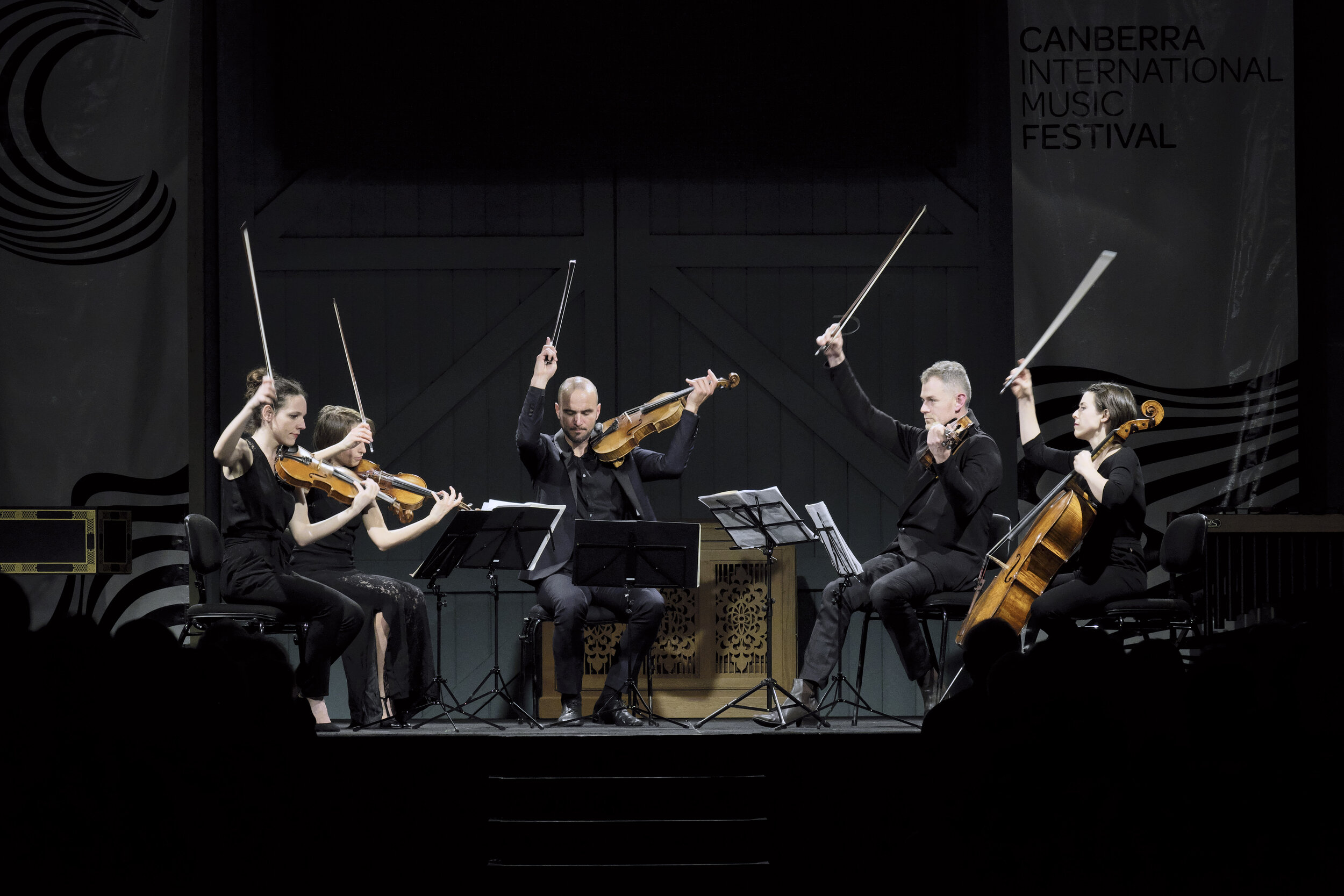 Concert 08. The Three Bs. Quatuor VocePhoto by Peter Hislop