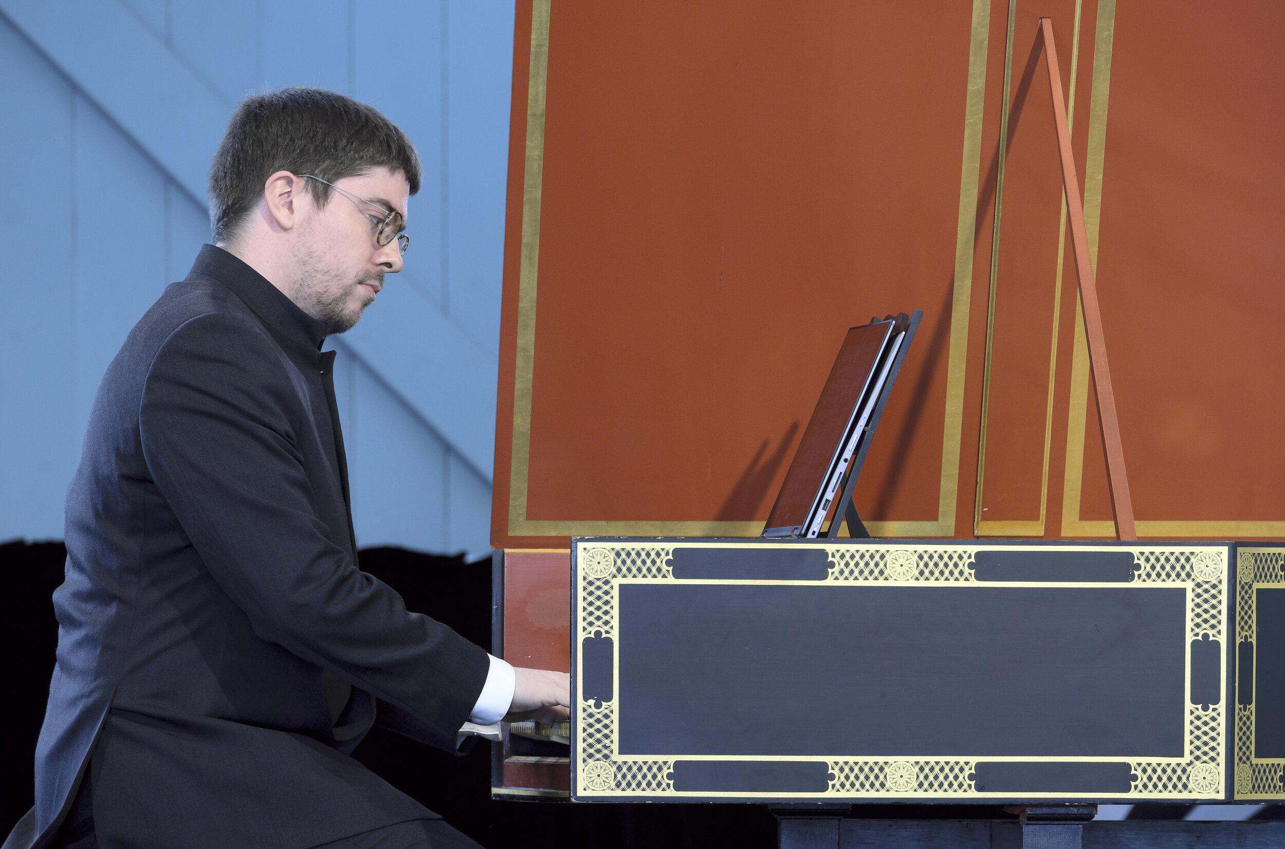 Concert 18. Prelude and Fugue. Korneel Bernolet. Photo by Peter Hislop