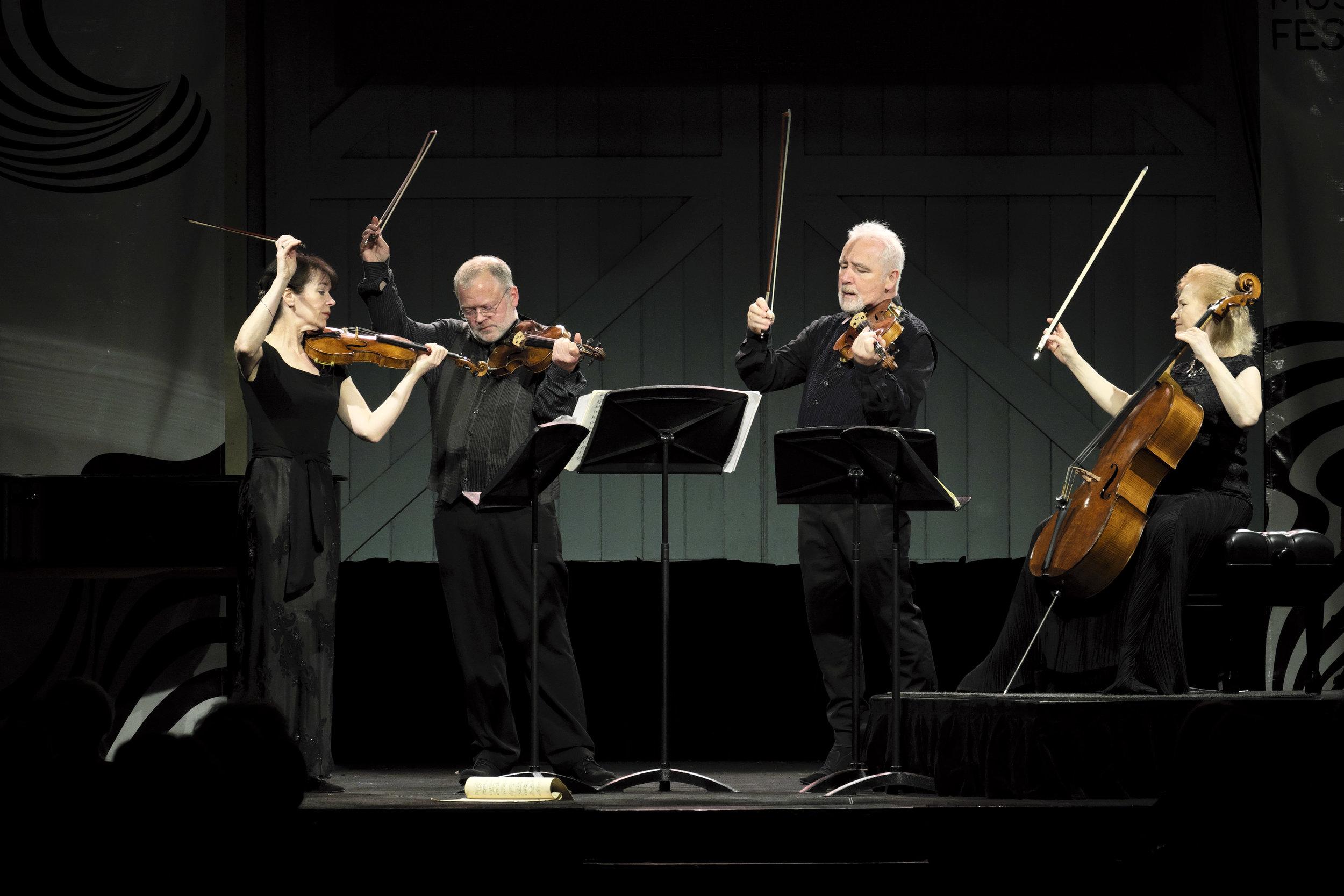 THE BRODSKY QUARTET (UK)   Concert 15: Brodsky Quartet  Photo by Peter Hislop