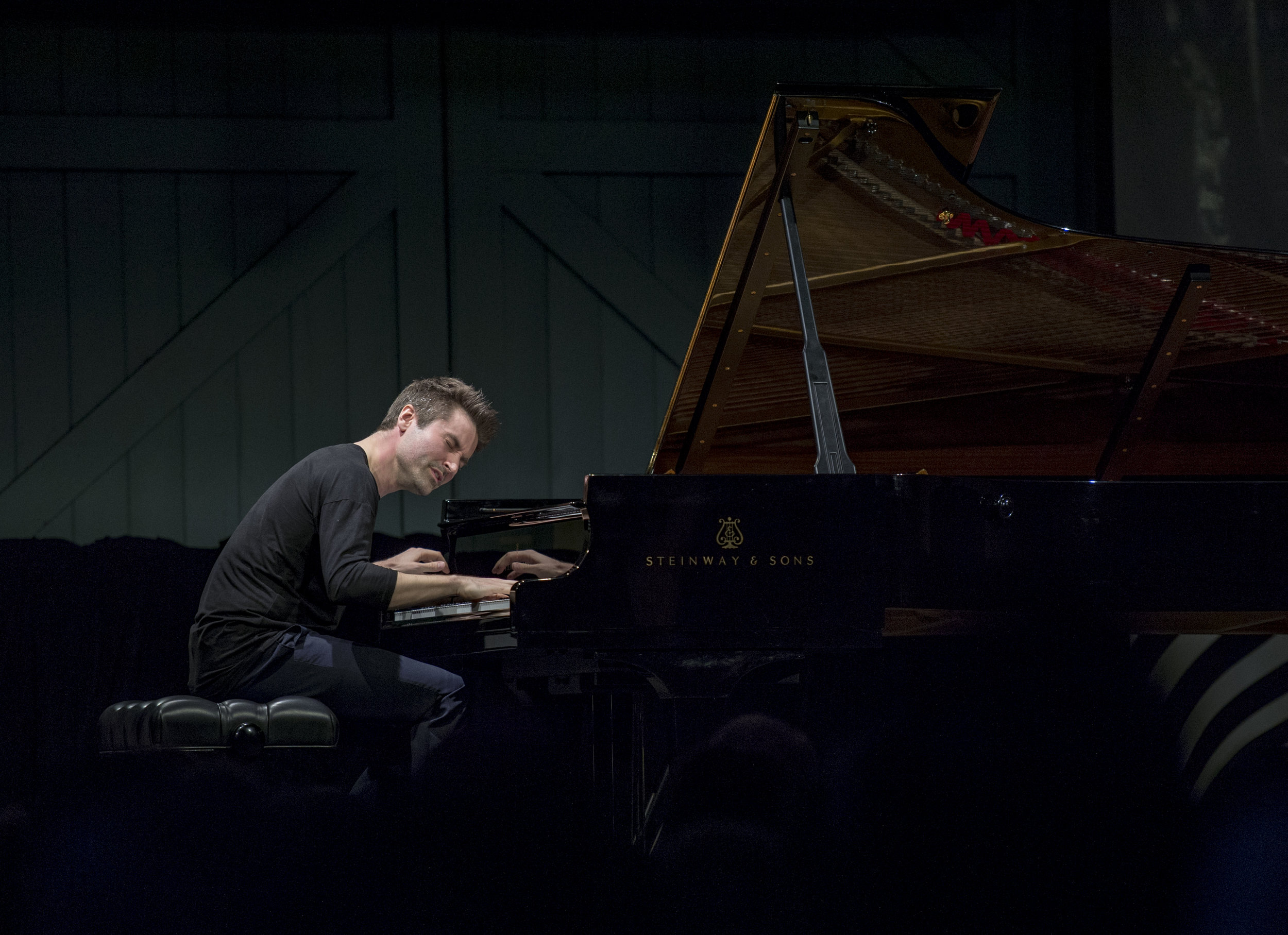 DAN TEPFER (USA)   Concert 20: Goldberg Variations/Variations  Photo by Anthony Browell