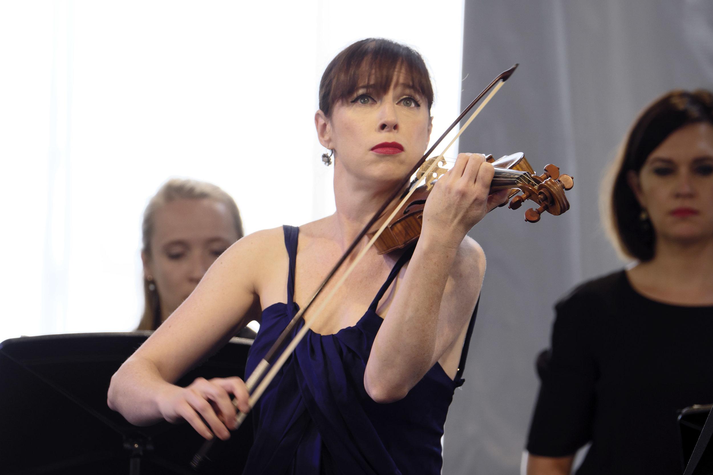 MADELEINE EASTON, BACH AKADEMIE AUSTRALIA   Concert 06: Bach's Orbit  Photo by Peter Hislop