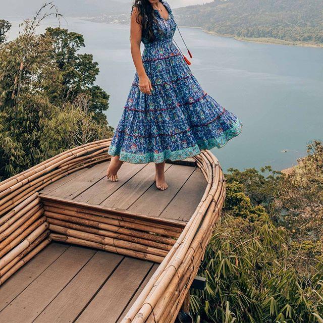 @oneworldjustgo swanning around in the Sophia Maxi Dress. Lusting over the Louvre Print arriving in September 💕 . . . #Naudic #WomenOfNaudic #AustralianFashion #Fashion #Cotton #Peace #Prints #Travel #TravelWithNaudic #WomensFashion #Australia #Wanderlust #Gypsy
