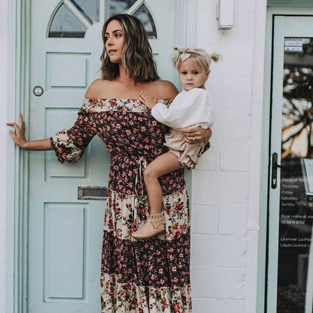 Magic ✨ Check out this sweet Mumma, sweet bubba and sweet Marshmellow Print 🍬 Our Majestic Maxi is in store now! . . . #Naudic #WomenOfNaudic #AustralianFashion #Fashion #Cotton #Peace #Prints #Travel #TravelWithNaudic #WomensFashion #Australia #Wanderlust #Gypsy