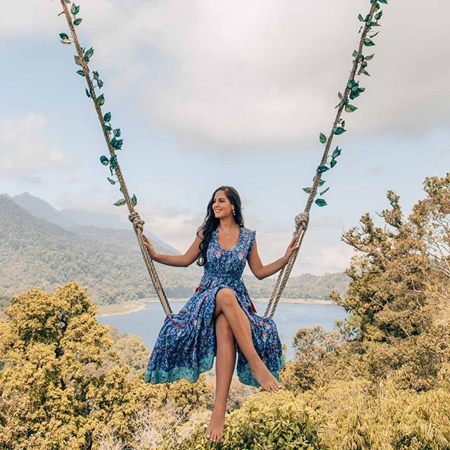 On top of the world 🌎 @oneworldjustgo wearing our Sophia Maxi Dress in Louvre Print. Coming soon. . . . #Naudic #WomenOfNaudic #AustralianFashion #Fashion #Cotton #Peace #Prints #Travel #TravelWithNaudic #WomensFashion #Australia #Wanderlust #Gypsy