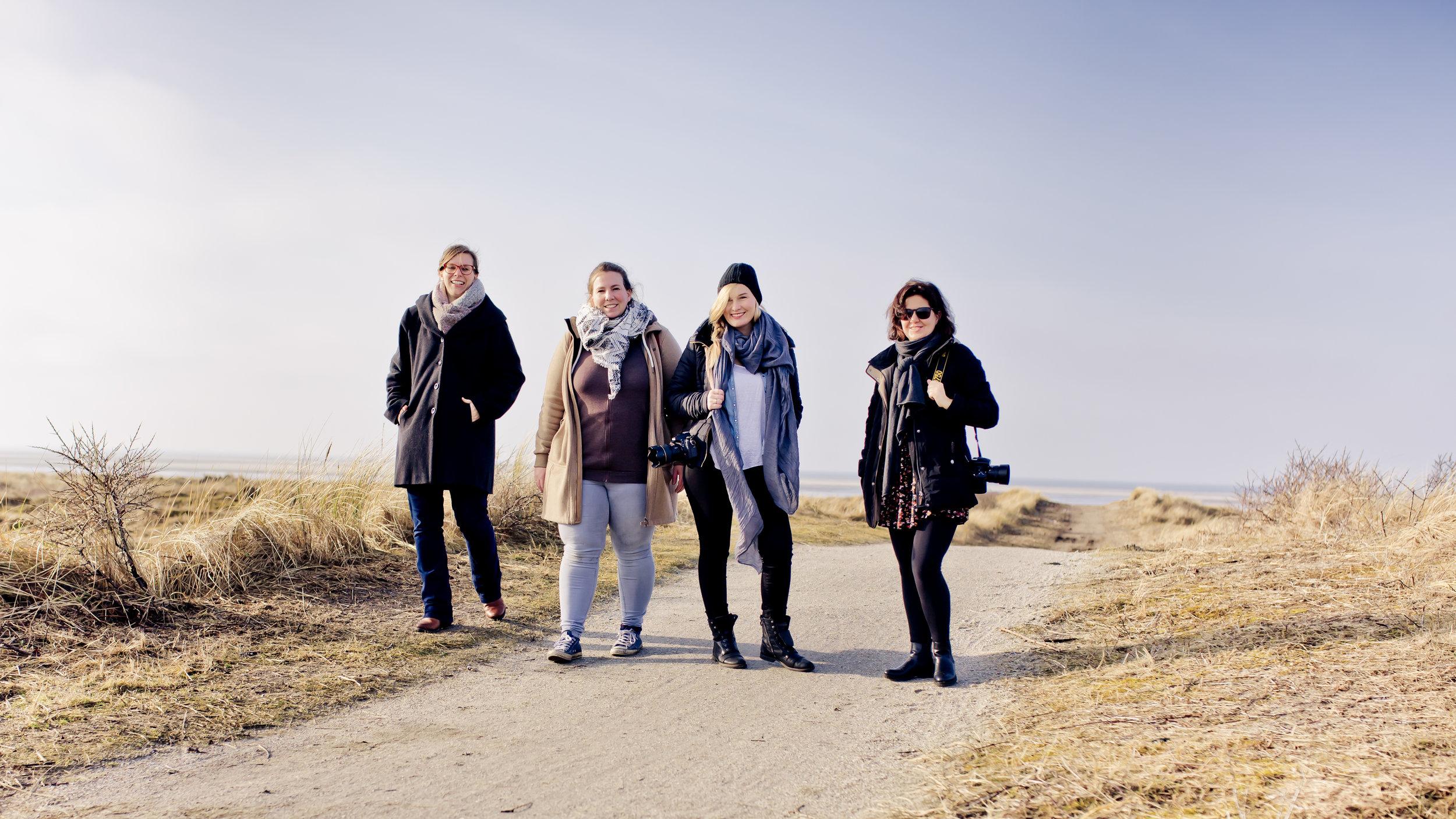 Anne Hornemann, Stefanie Lategahn, Verena Anne Ahrens & Daniela Müller