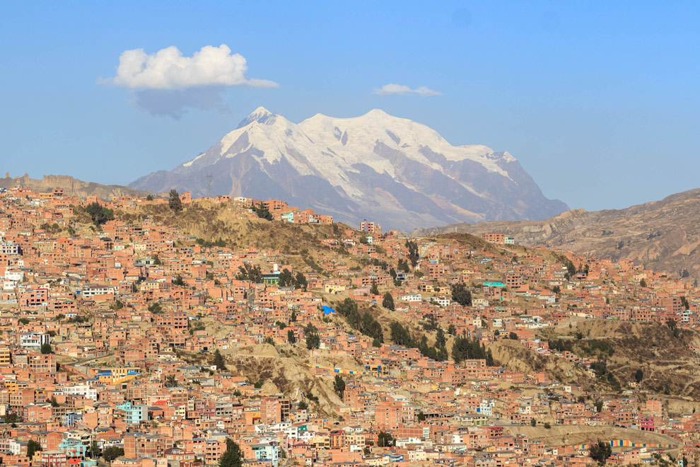 The illest of all, Mount Illimani!