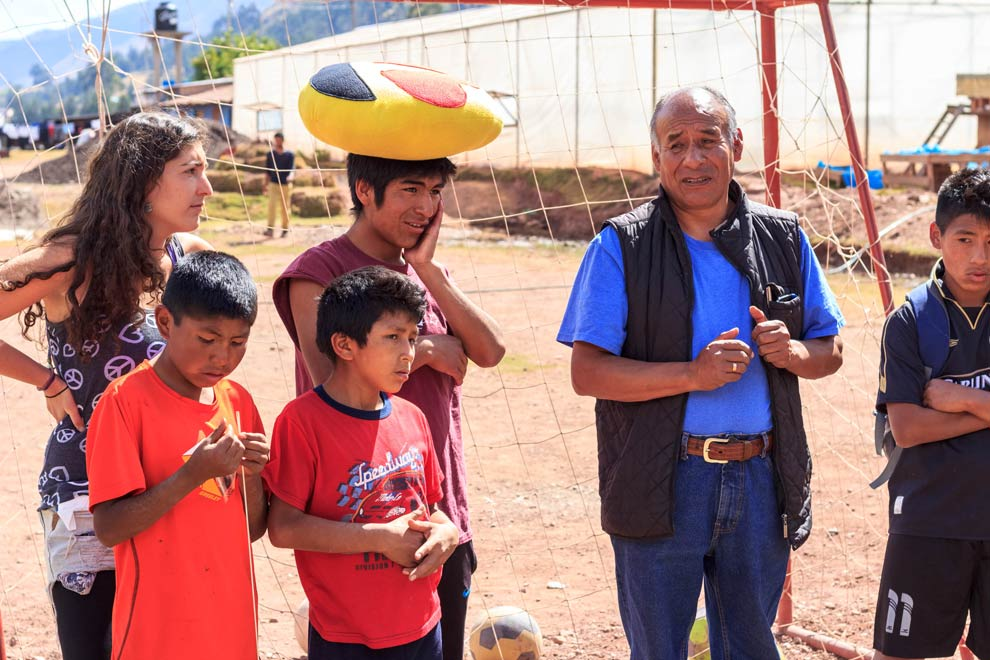 Alcides, introducing us to the home, and each of the kids.